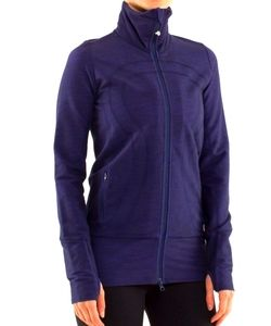 Lululemon reversible size 6 in stride jacket blue